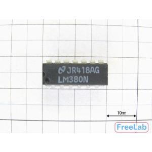 パワーアンプIC(モノ) <LM380N>|freelab