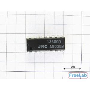 コンダクタンスアンプ <NJM13600D>|freelab