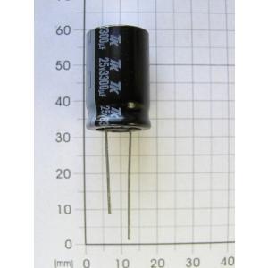 電解コンデンサ 25V 3300uF|freelab