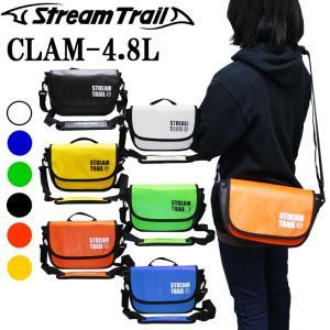 STREAMTRAIL ストリームトレイル CLAM 4.8L クラム 簡易防水ショルダーバッグ【あすつく対応】|freeline