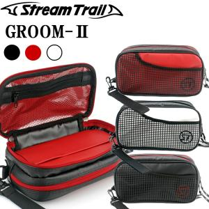 STREAMTRAIL ストリームトレイル GROOM-2 グルーム トラベルポーチ アメニティケース サブバッグ あすつく対応|freeline