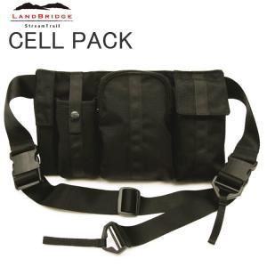 送料無料 LANDBRIDGE ランドブリッジ セルパック Cell Pack コンパクトショルダーバッグ ストリームトレイル  あすつく対応|freeline