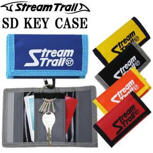 ゆうパケット対応 STREAMTRAIL ストリームトレイル SD KEY CASE キーケース 5連タイプ カード収納 カラビナ付き あすつく対応|freeline