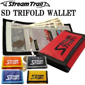 ゆうパケット対応 STREAMTRAIL ストリームトレイル SD TRIFOLD WALLET トリフォルドウォレット 三つ折り財布 サブウォレット 海外旅行 あすつく対応|freeline