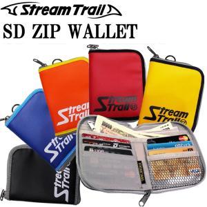 ゆうパケット対応2個迄 STREAMTRAIL ストリームトレイル SD ZIP WALLET ジップウォレット ジッパー財布 サブウォレット 海外旅行 あすつく対応|freeline