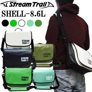 STREAMTRAIL ストリームトレイル SHELL シェル 8.6L 簡易防水ショルダーバッグ【あすつく対応】|freeline
