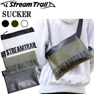 STREAMTRAIL ストリームトレイル SUCKER サッカー サコッシュタイプショルダーバッグ 【あすつく対応】 freeline