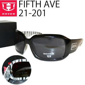 HOVEN ホーベン サングラス FIFTH AVE フィフスアベニュー 21-201 ゼブラ アイウェア あすつく対応|freeline
