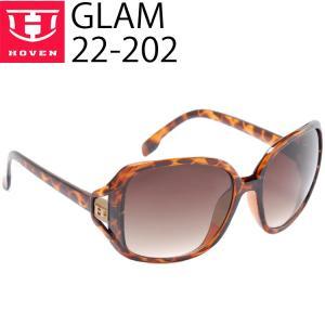 HOVEN ホーベン サングラス GLAM  22-202 ダークトート ブラウンフェード あすつく対応|freeline