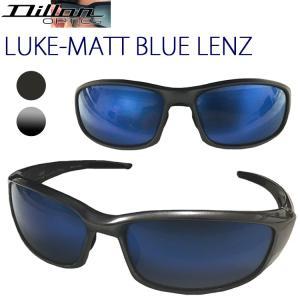 DILLON NIR ディロン ルーク LUKE MATT BLUE LENZ 偏光サングラス マットブルーレンズ あすつく対応|freeline