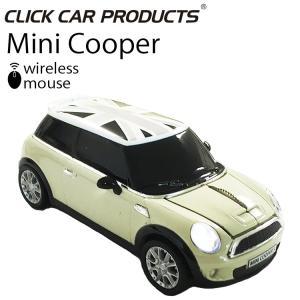 【CLICK CAR MOUSE】ミニクーパーS クリックカーマウス MINI COOPER S ペッパーホワイト ブラックジャック 日本限定 光学式ワイヤレスマウス【あすつく対応】 freeline
