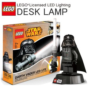 【LEGO】レゴ ダース・ベイダー LED デスクランプ スターウォーズ STARWARS LEDライト ダースベーダー【あすつく対応】 freeline