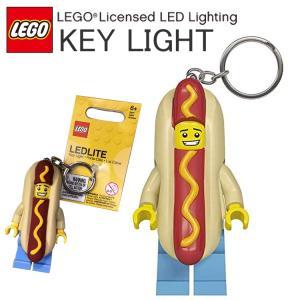 ホットドッグマンのキーライトです。 腹部のボタンを押すとLEDライトが光ります。  ■本体サイズ:全...