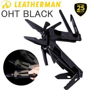 送料無料 25年保証 LEATHERMAN レザーマン OHT BLACK 16機能マルチツール 正規輸入代理店品 あすつく対応|freeline