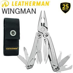 25年保証 LEATHERMAN レザーマン WINGMAN ウイングマン 14機能マルチツール 正規輸入代理店品 あすつく対応|freeline