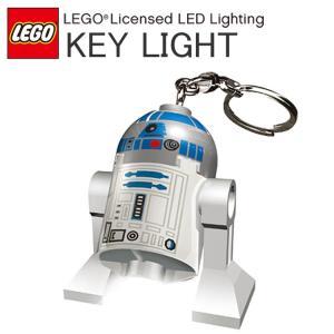 LEGO レゴ STAR WARS スターウォーズ R2-D2 キーチェーン LEDキーライト キーホルダー あすつく対応|freeline