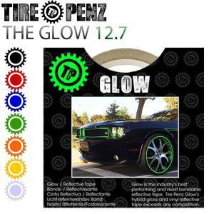 メール便送料無料 タイヤペンズ THE GLOW グロウ 12.7mm×9M リフレクトラインテープ 塗装保護接着剤 リムステッカー ホイールテープ|freeline