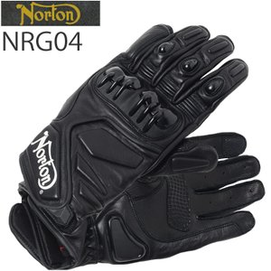 NORTON ノートン グローブ NRG04 ホワイトロゴ オールシーズン バイク用ツーリンググローブ あすつく対応 freeline
