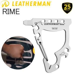 ゆうパケット対応1個迄 25年保証 LEATHERMAN レザーマン RIME ライム 5機能カラビナツール LTJマーク あすつく対応|freeline