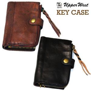 UPPER WEST アッパーウエスト HK KEY CASE 本革キーケース 2色|freeline