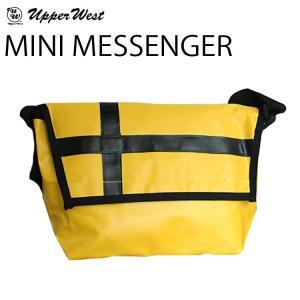 ミニ メッセンジャー  UPPER WESTアッパーウエスト  ミニメッセンジャーバッグ ターポリン素材|freeline