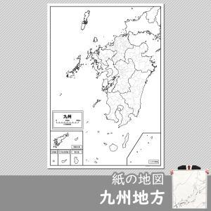 九州地方の白地図|freemap