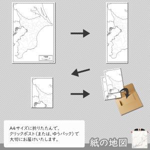 千葉県の紙の白地図 freemap 05