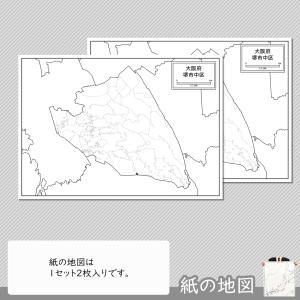 堺市中区の紙の地図 freemap 04