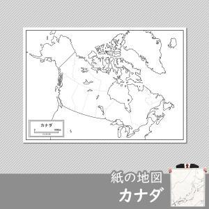 カナダの紙の地図|freemap