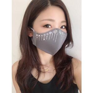 FREESマスク017 ラインストーンマスク フリーズマスク キラキラ 水洗い100回洗える 日本製 FREES MASK|frees