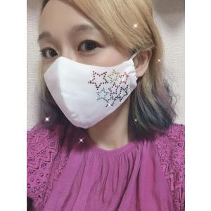 FREESマスク022 ラインストーンマスク フリーズマスク キラキラ 水洗い100回洗える 日本製 FREES MASK ビジュー|frees