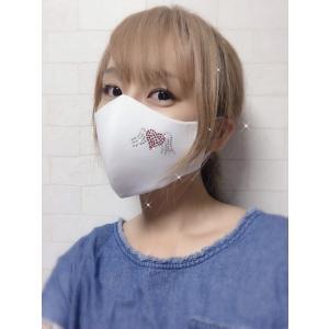 FREESマスク026 ラインストーンマスク フリーズマスク キラキラ 水洗い100回洗える 日本製 FREES MASK ビジュー|frees