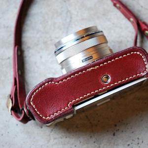 カメラホルダー レザー ロベルのOLYMPUS PEN E-P5ホルダー&ストラップ カメラホルダー ROBERUプレゼント 男性 誕生日 就職祝い|freespirits|05