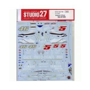 """取寄せDC746 スタジオ27 1/12 ヤマハYZR-M1""""GAULOISES""""MotoGP'05..."""