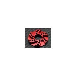 ラップアップ 0090-FD ヒートシンクオフセットモーターアダプター3.0mm (レッド)|freestyle-hobby