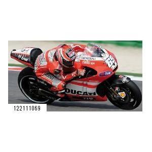 新品122111069 ミニチャンプス1/12 ドゥカティ デスモセディチ GP 11.1 ニッキー・ヘイデン モトGP 2011|freestyle-hobby