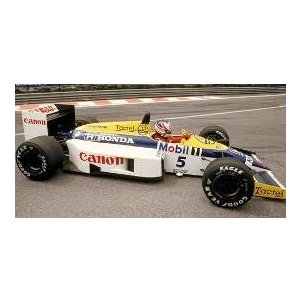 新品117860005 ミニチャンプス1/18 ウィリアムズ ホンダ FW11 ナイジェル・マンセル 1986|freestyle-hobby