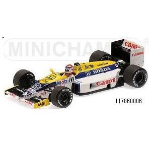 新品117860006 ミニチャンプス1/18 ウィリアムズ ホンダ FW11 ネルソン・ピケ 1986|freestyle-hobby