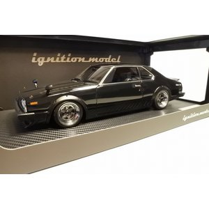 新品IG1079 イグニッションモデル1/18 日産 Skyline 2000 GT-ES (C210) Black ※Ron-Wheel|freestyle-hobby