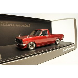 新品IG1120 イグニッションモデル1/43 日産 Sunny Truck (B121) Long Red Metallic|freestyle-hobby