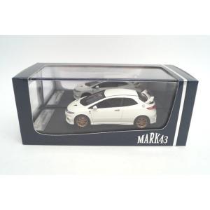 新品PM4347MW MARK43 1/43 無限 シビック タイプ R (FN2)チャンピオンシップホワイト|freestyle-hobby