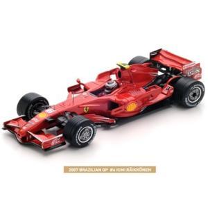 新品LSF-ES1706 LOOKSMART 1/43 ルックスマート×ユーロスポーツ別注 フェラーリF2007 キミ・ライコネン 2007年ブラジルGP優勝 ワールドチャンピオン獲得|freestyle-hobby