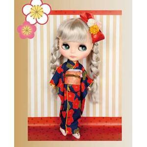 Junie Moon ドリーウェア Kimono Secret キモノシークレット ウメ ブルー ネオブライスサイズ ※衣装のみ ジュニームーン/新品|freestyle-hobby