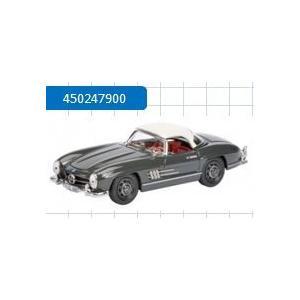 取寄せ450247900 シュコー 1/43 メルセデス ベンツ 300SL Roadster  グレー/ベージュ freestyle-hobby