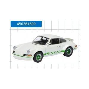 取寄せ450361600 シュコー 1/43 ポルシェ  911 RS 2.7 ホワイト-グリーン freestyle-hobby