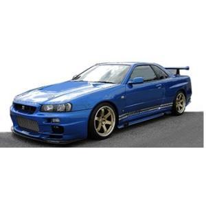 予約IG1478 イグニッションモデル 1/43 日産 TOP SECRET GT-R (BNR34) ブルー freestyle-hobby