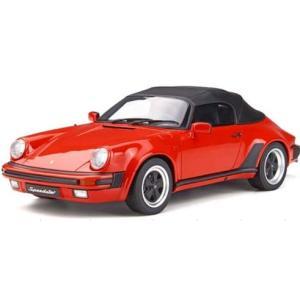 予約GTS130 GTスピリット 1/18 ポルシェ 911 3.2 スピードスター レッド 世界限定 999個|freestyle-hobby