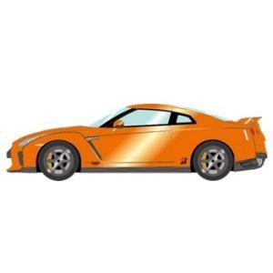 予約EM419C メイクアップ/アイドロン 1/43 日産 GT-R 2017 TE037 ホイールver.  アルティメイトシャイニーオレンジ|freestyle-hobby