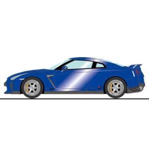 予約EM419D メイクアップ/アイドロン 1/43 日産 GT-R 2017 TE037 ホイールver.  オーロラフレアブルーパール|freestyle-hobby