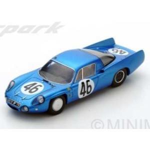 予約S5488 スパーク 1/43 アルピーヌ M65 No.46 Le Mans 1965  M. Bianchi - H. Grandsire|freestyle-hobby